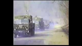 Афганистан 221 ОБМО ВВС в/ч 17755 колонна 1311, 1312, 1313 Хайратон - Саланг - Кабул