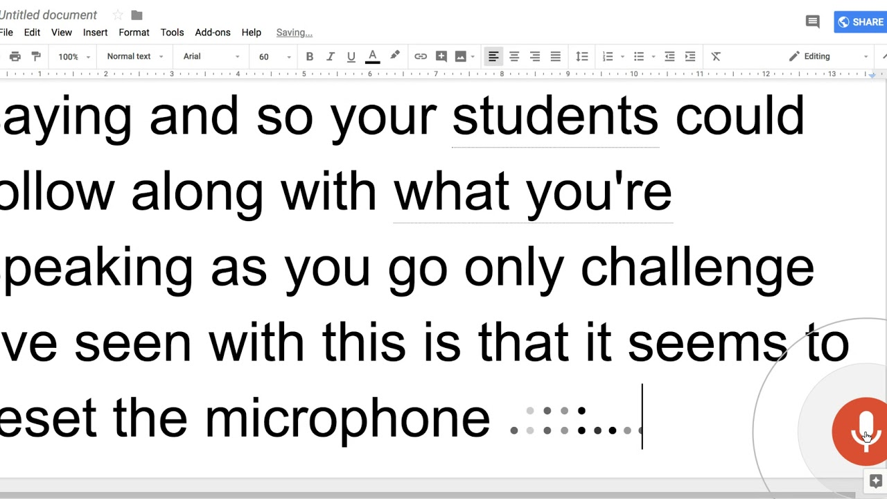Using Google Doc Voice Typing as Auto-Captions for Lessons Presented to  Hearing Impaired Students