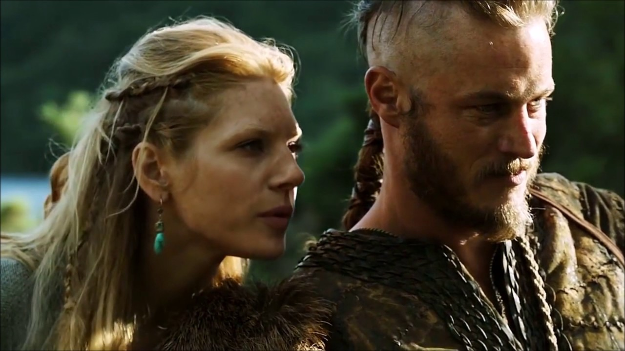 Image result for Ragnar Lothbrok and Lagertha