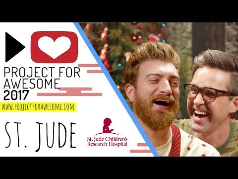 St. Jude Children's Research Hospital I Project For Awesome 2017