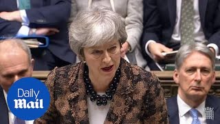 PM outlines next steps for Brexit negotiations after Commons defeat