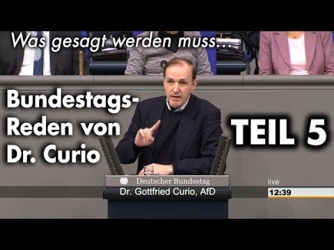 Unbequeme Wahrheiten im Bundestag - Teil 5 | Dr. Gottfried Curio