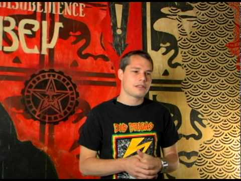 CraveOnline - Shepard Fairey Interview, Pt. 3