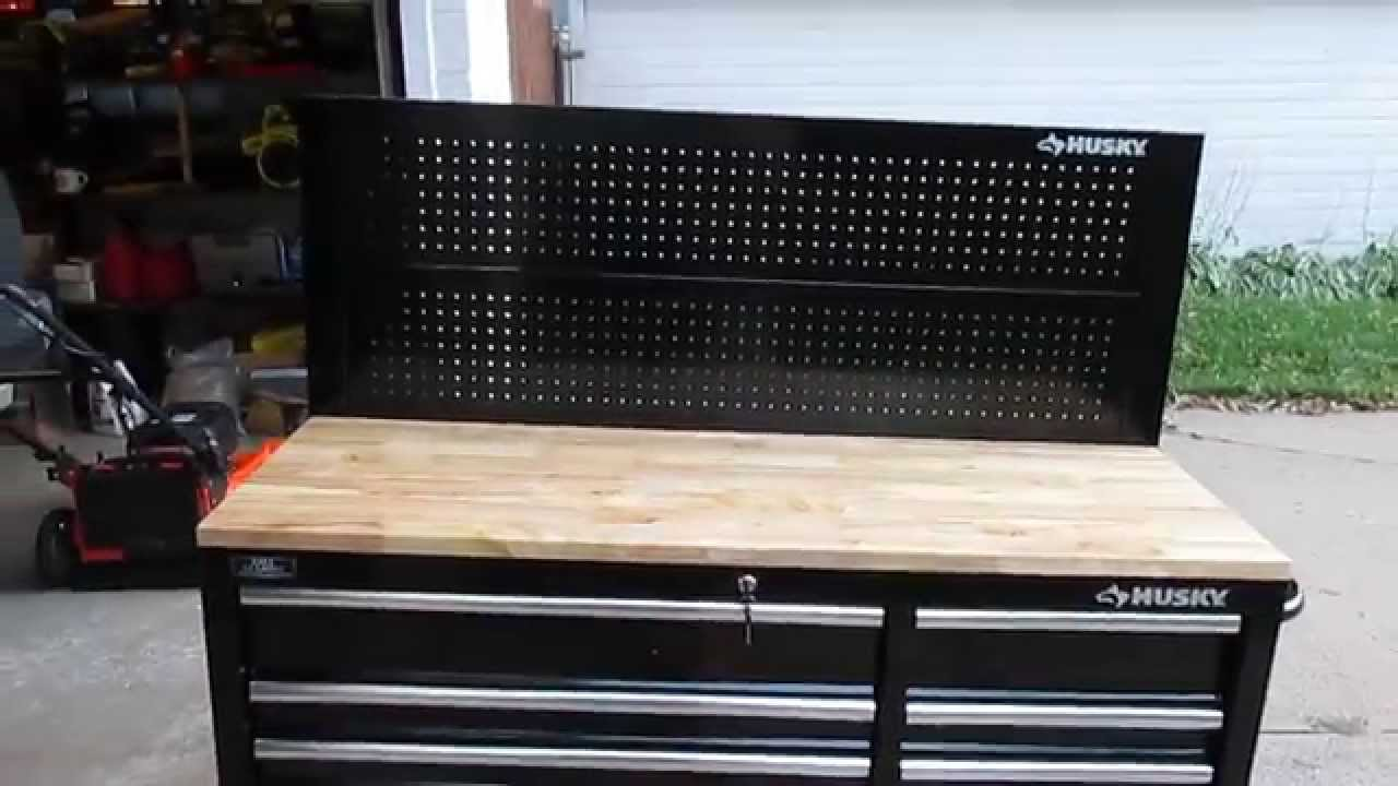 Husky 52 In Pegboard Back Wall For Tool Cabinet Review