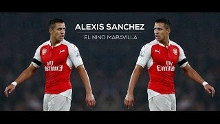 Alexis sanchez 2016/17 - el nino maravilla | [co-op part]