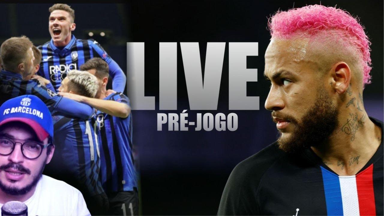 PSG X ATALANTA (PRÉ-JOGO) (LIVE)