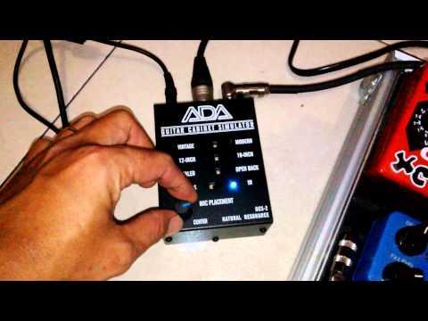ISP THETA PREAMP & ADA GCS-2 GUITAR CABINET SIMULATOR by BOBBY CHUYONK