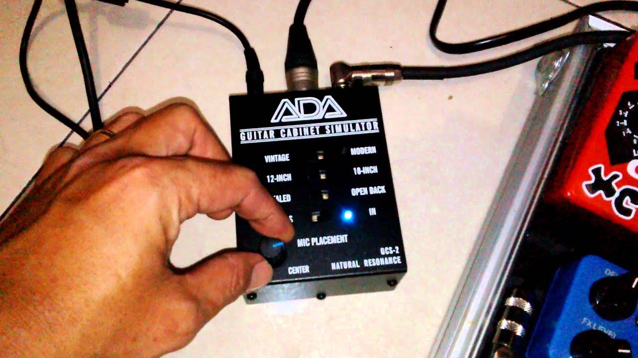 ISP THETA PREAMP & ADA GCS-2 GUITAR CABINET SIMULATOR by BOBBY ...