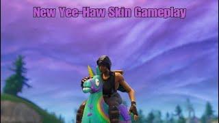 Fortnite New Yee-Haw Skin Gameplay