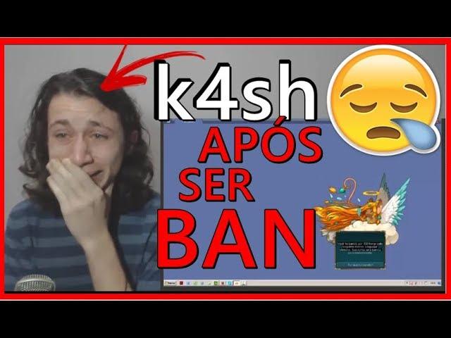 K4sh Chora Após Ser Ban Perma - Transformice