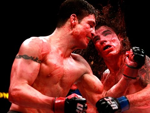 Top 5 Bloodiest Fights in UFC History - YouTube