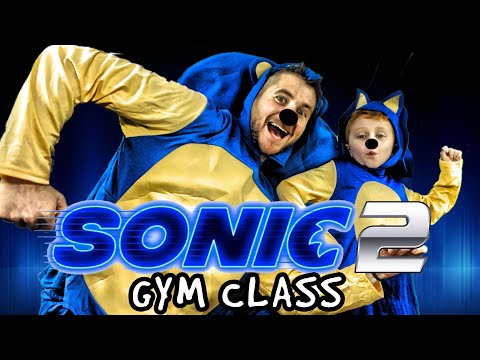 Kids Workout! SONIC 2 GYM CLASS! Real-Life VIDEO GAME! Kids Workout Videos, DANCE, & P.E. FUN!