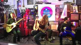 Amanda Lee Peers and The Driftwood Sailors Live Performance at The House Of Guitars