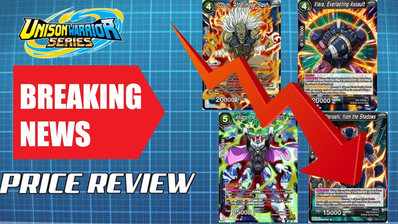 BANNED CARDS MAKE PRICES GO DOWN! DBS MARKET WATCH