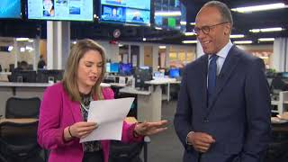 Cassidy gets weird with Lester Holt