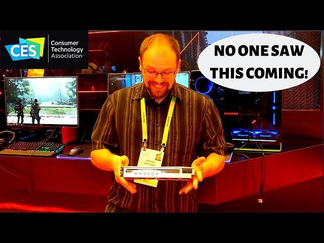 AMD - New Radeon VII graphics card!!! - CES 2019