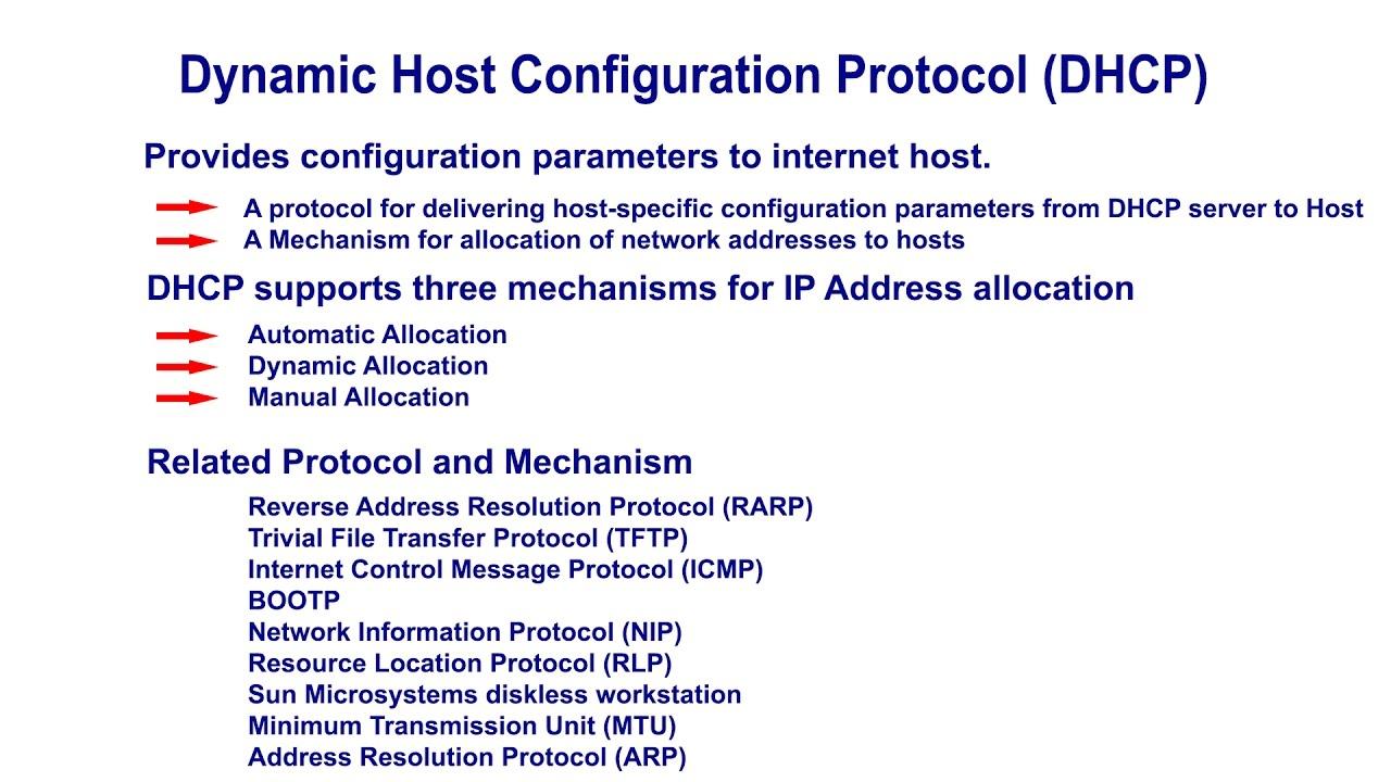 dynamic host configuration protocol essay Administrators, computer securities - network protocols: dynamic host configuration protocol.