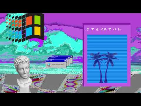 Bee Gees - Stayin' Alive (Vaporwave)