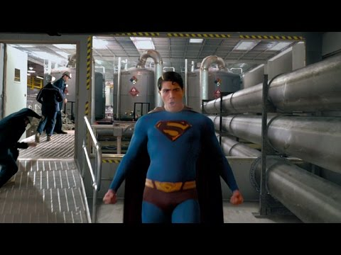 Superman saves Daily Planet | Superman Returns