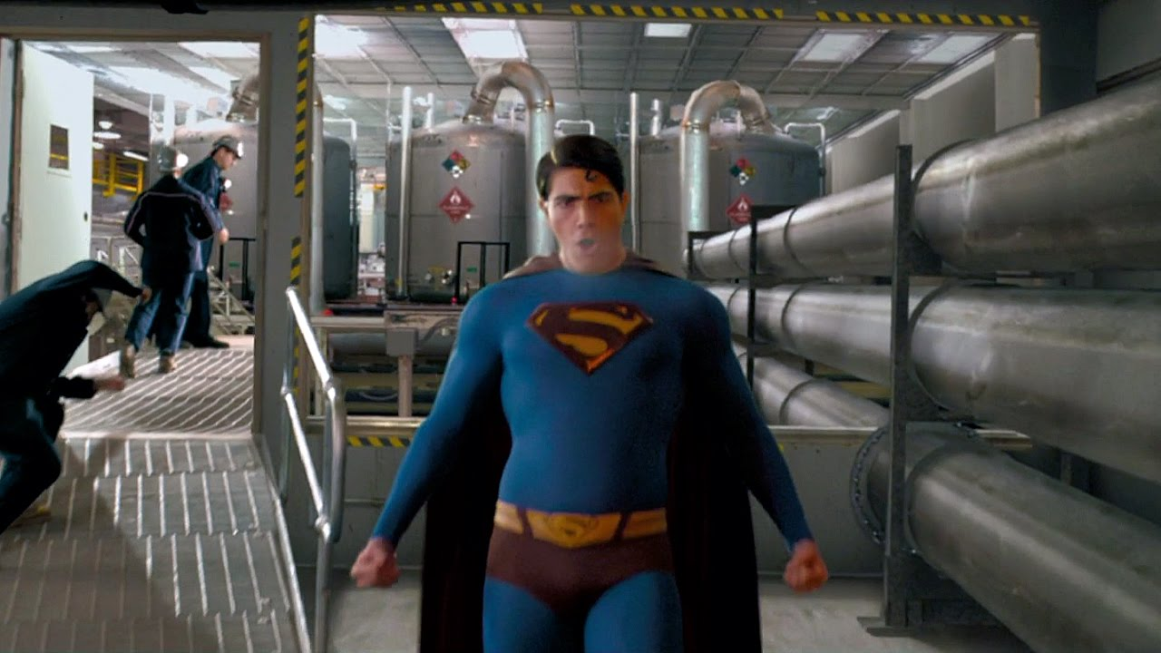 Superman saves Daily Planet   Superman Returns - YouTube