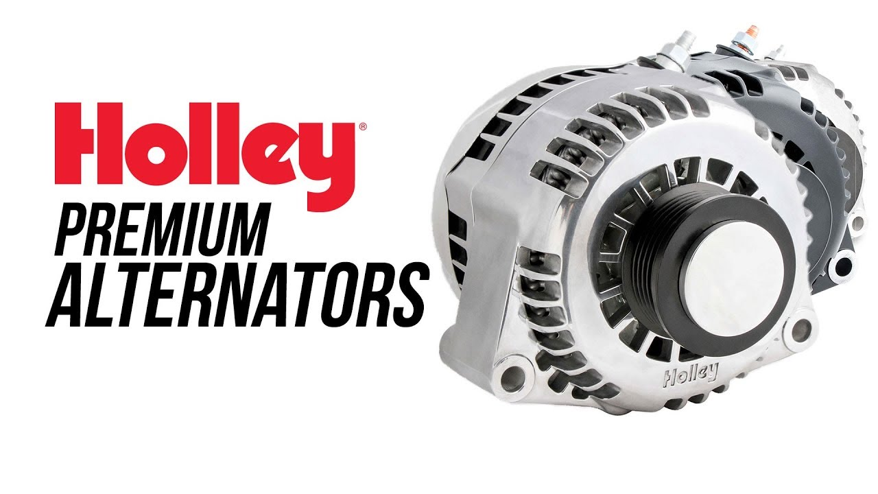holley premium alternators for ls engines [ 1280 x 720 Pixel ]