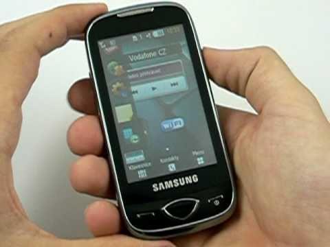 Samsung S5560 - design a konstrukce