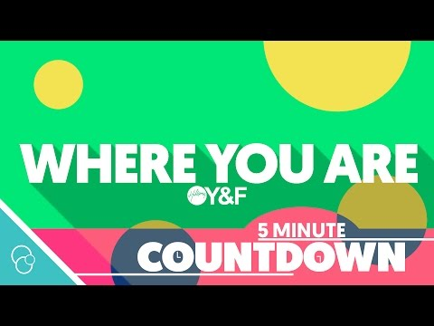 Hillsong Young & Free - Where You Are (5 Minute Countdown) (4K)