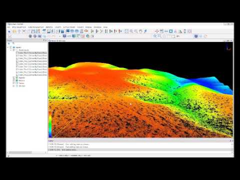Classifying Lidar Ground points Using LiDAR360