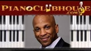 """vuclip ♫ How to play """"GREAT IS YOUR MERCY"""" (Donnie McClurkin) - gospel piano tutorial ♫"""