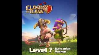 Clash Of Clans Update info: Level 7 Archer and Barbarian in Action footage!