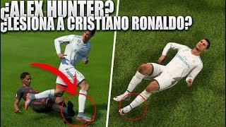 qu pasa si alex hunter lesiona a cristiano ronaldo en el partido vs real madrid   mitos fifa18