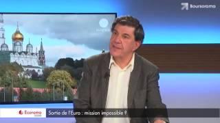 'En cas de sortie de l'Euro, l'Etat regardera sur notre compte en banque !', Jacques Sapir