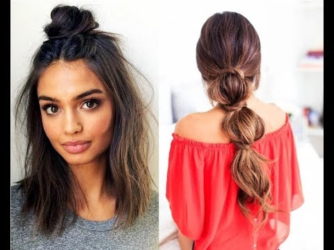 Latest Most Popular Easy Hairstyles For College Girls Simple