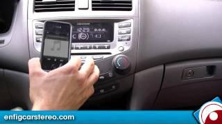 iPod iPhone AUX adapter Honda Accord 2003-2007 iSimple ISHD571