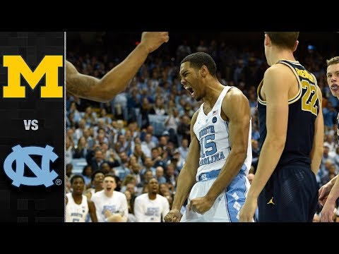 Michigan vs. North Carolina Basketball Highlights (2017)