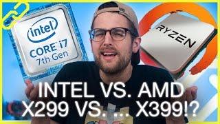 Intel Optane M.2 SSDs, Ryzen X399 chipset, RX Vega 4GB + 8GB versions