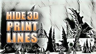 Hide 3D Printer Lines: Horizon Creation Terrain Showcase