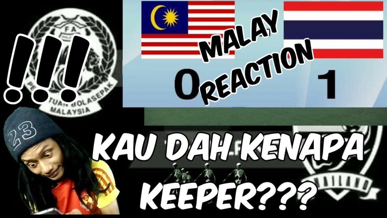Download ( U18 AFF SUZUKI CUP 2019 ) MALAYSIA 0 VS 1 THAILAND NEXT MEDIA (MALAY REACTION) RAJE RIDZUAN KHAI
