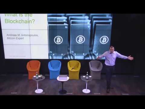 Andreas Antonopoulos Great speech on Blockchain vs Bitcoin in front of Consultants, 11 2017