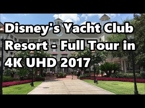 Disney's Yacht Club Resort | Full Tour in 4K | 2017 | Walt Disney World