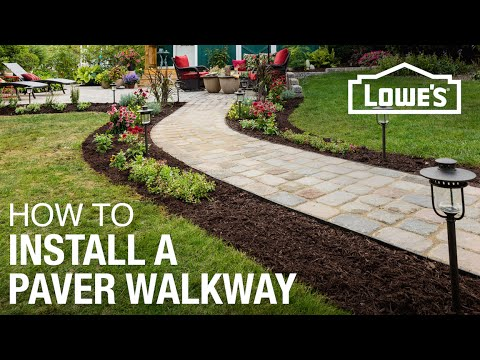 How to Design and Install a Paver Walkway