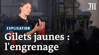 « Gilets jaunes » : comment l'engrenage des violences s'est mis en place