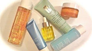 Уход за лицом осень-зима /  Clarins, Shiseido, Clinique(Добро пожаловать на мой канал - http://www.youtube.com/user/KateBeautyBox Уход за лицом осенью и зимой. My Skincare Routine ВИДЕО: