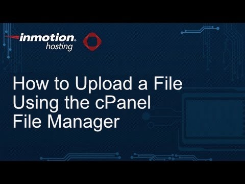 How do I Upload a File to my Server? | InMotion Hosting Support Center