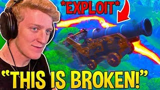 TFUE FINDS *OVERPOWERED* CANNON EXPLOIT YOU NEED TO TRY! - Fortnite Moments