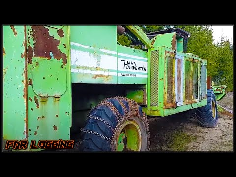 Hahn Harvester - Full Tree Delimber - Traveling Discovery!