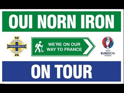 Northern Ireland Football Fans Song - We're On Our Way To France - � raised for Tiny Life