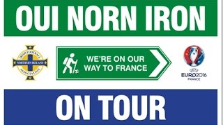 northern ireland football fans song we re on our way to france 7500 raised for tiny life
