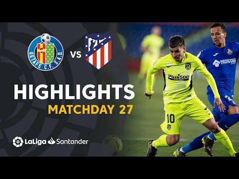 Getafe Atletico Madrid Goals And Highlights