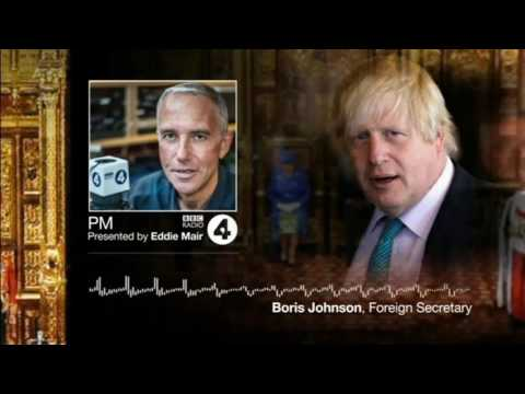 That Boris Johnson train wreck interview with Eddie Mair in full